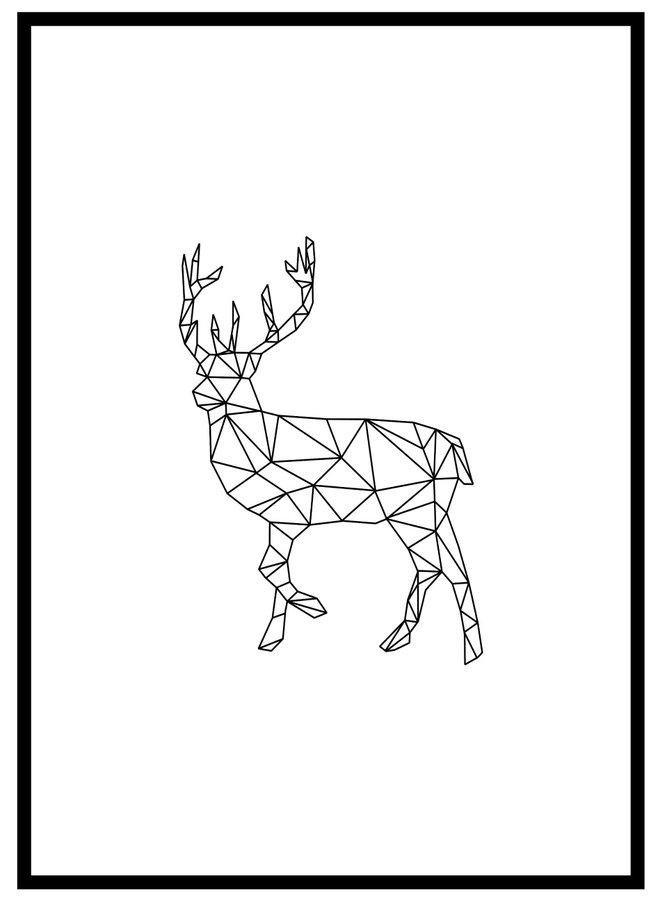 Scandinavian Hert Poster