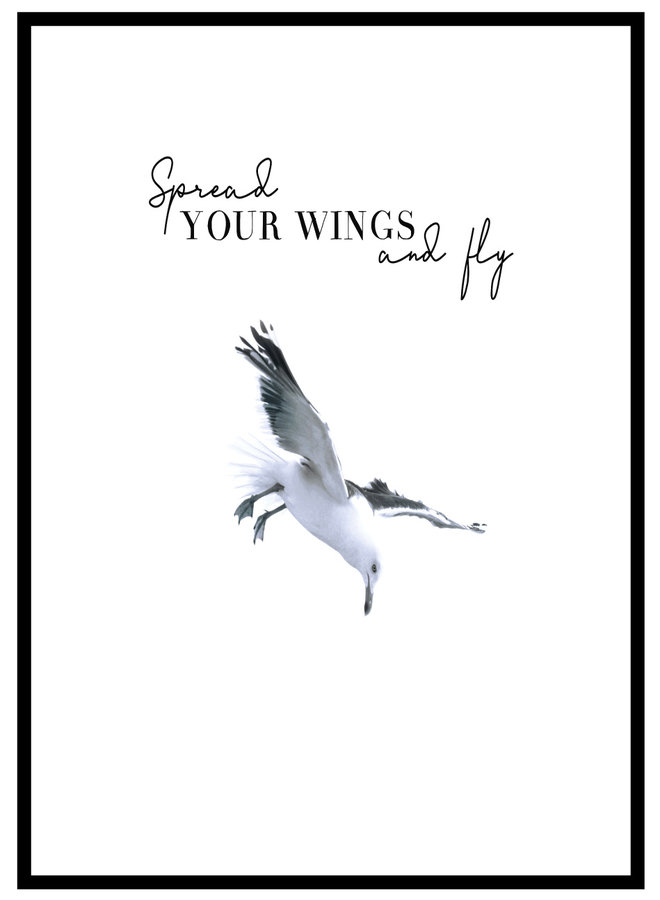 Spread Your Wings Poster