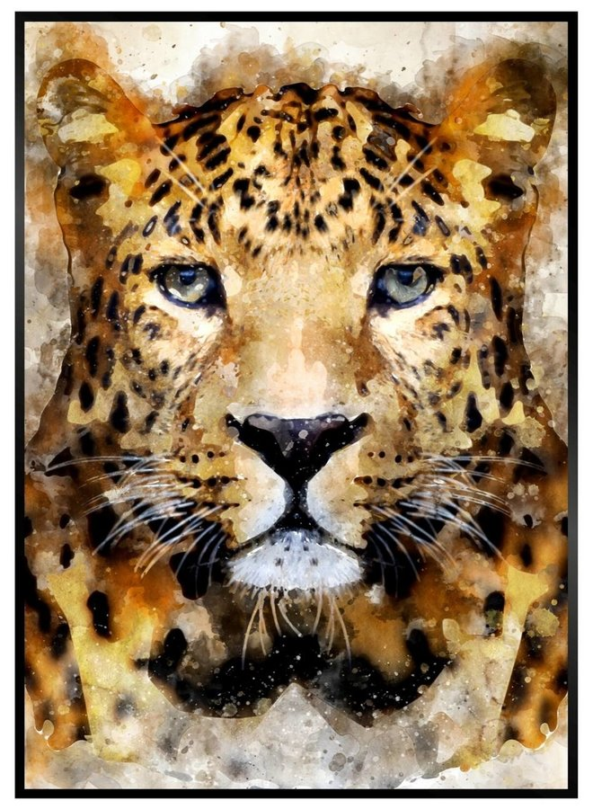 Painted Panter Poster