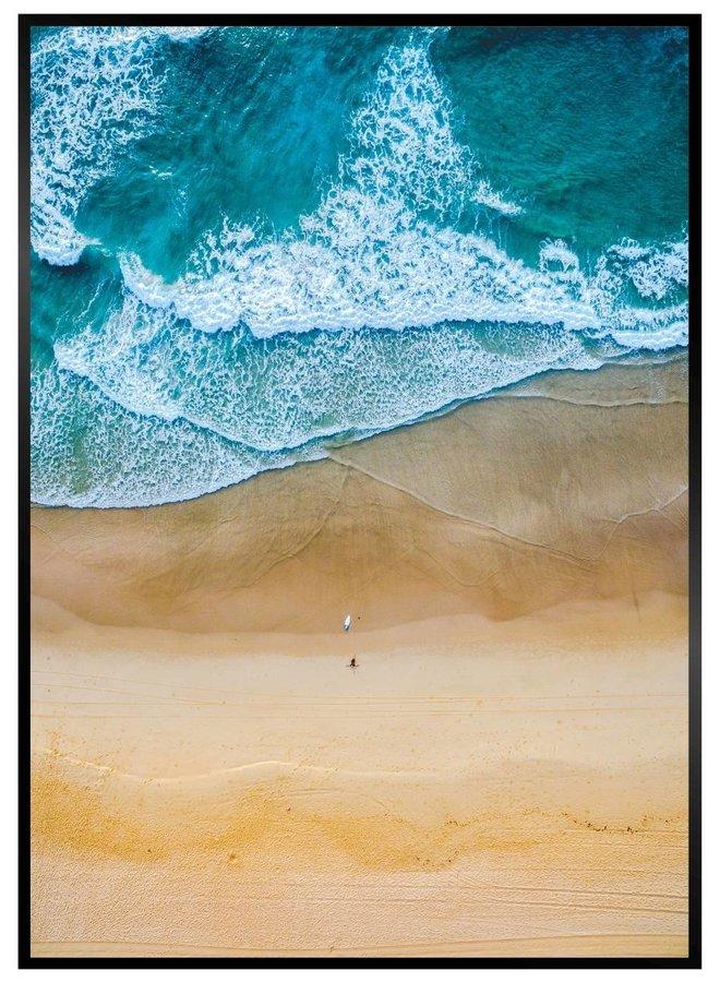 Coast Line Poster