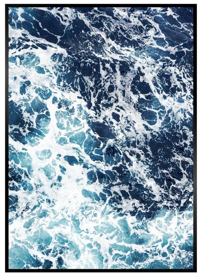 Ocean Foam Poster