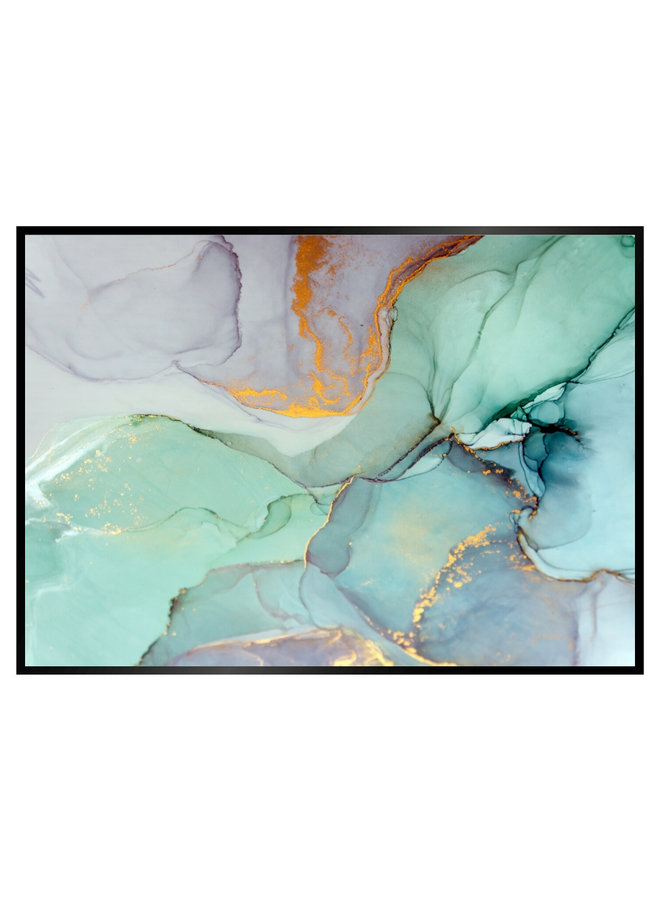 Pastel Marble II Poster