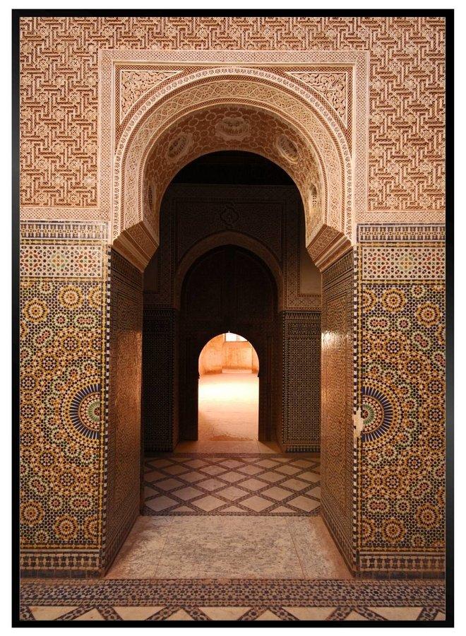 Moroccan Door II Poster