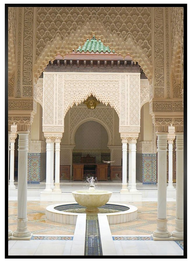 Moroccan Door III Poster