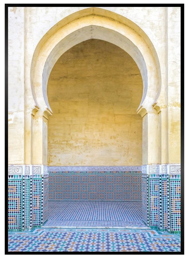 Moroccan Style Poster