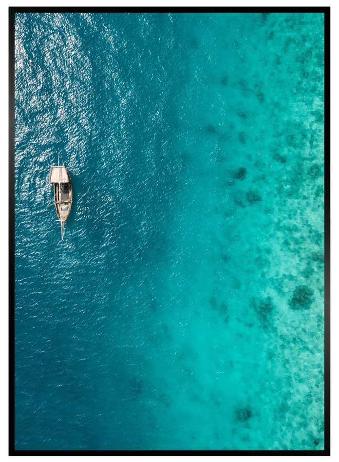 Ocean Boat II Poster