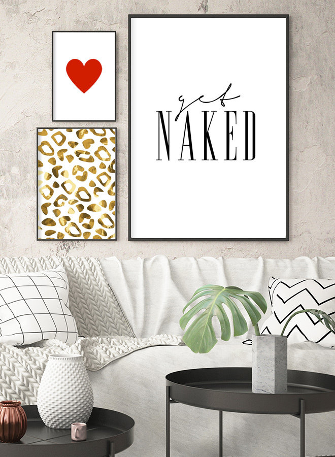 Get Naked Poster