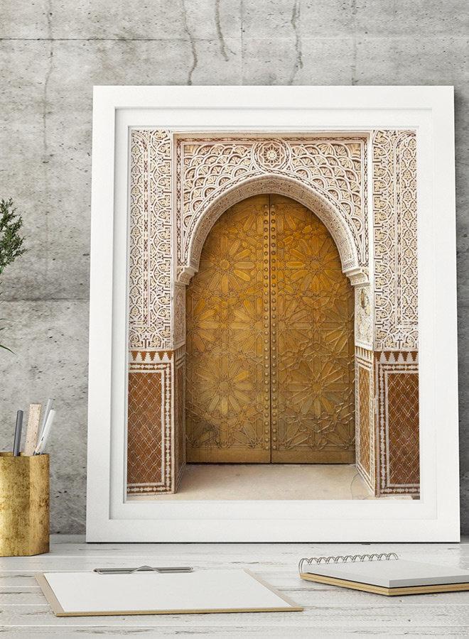 Moroccan Door IV Poster