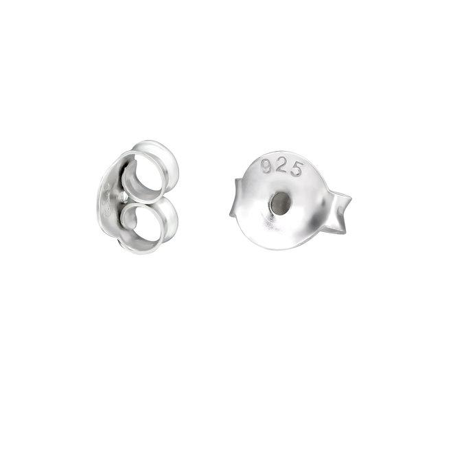 925 Sterling zilver achterkantjes - Oorstoppers per paar
