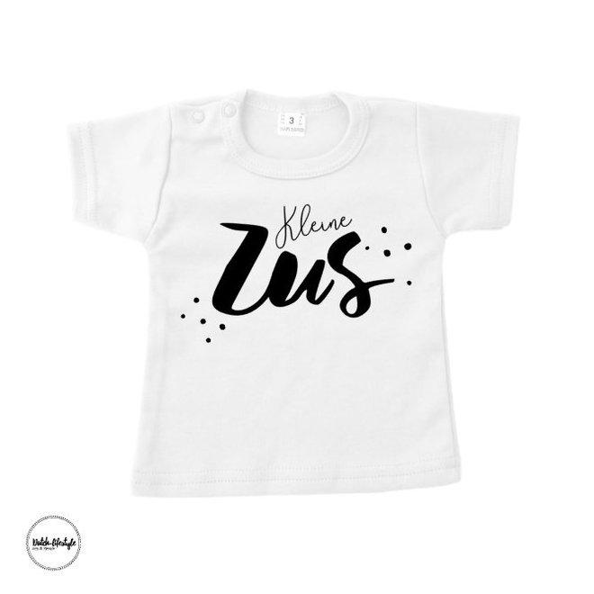 """T-shirt: Kleine zus """"wit"""""""