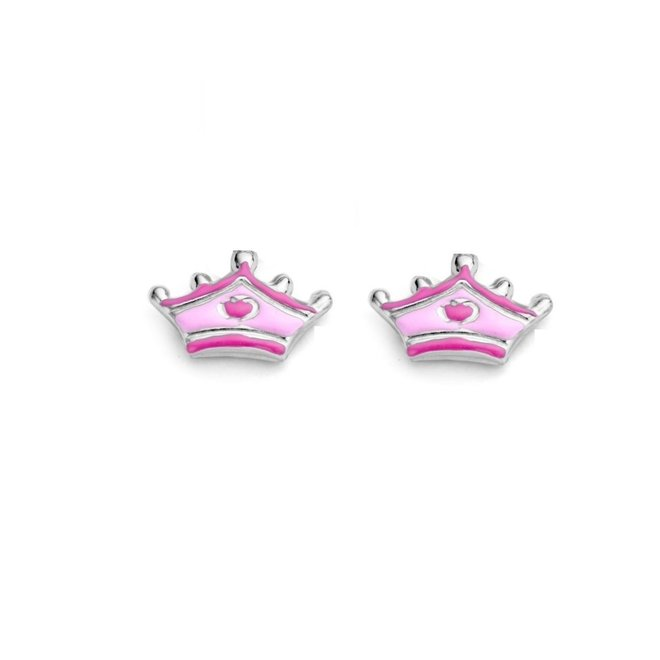 Naiomy Princess oorstekers: Kroontje