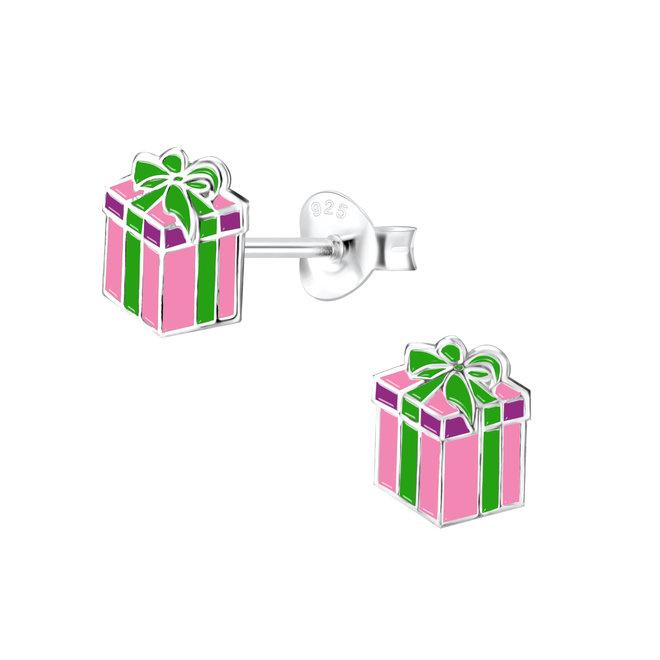 Zilveren kinderoorbellen: Kerstmis Cadeautje