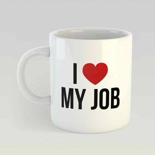 I Love my job M