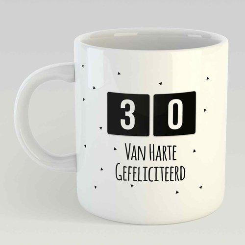 30 Van harte gefeliciteerd L