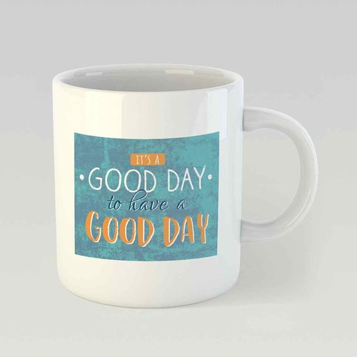 It's a good day to have a good day M