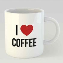I love coffee L