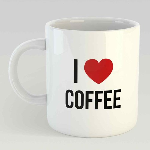 I love coffee L