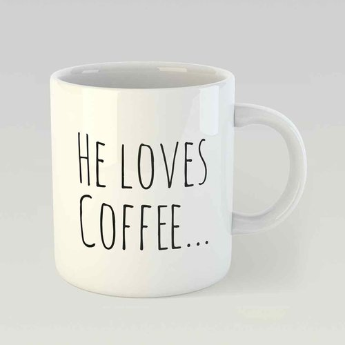 He loves coffee… and she loves him M