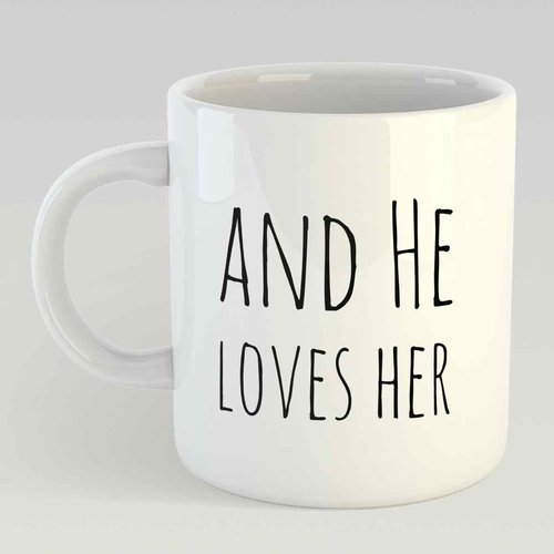 She loves coffee… and he loves her L