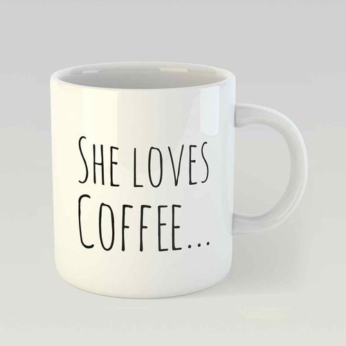 She loves coffee… and he loves her M