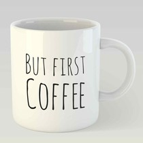 But first coffee L