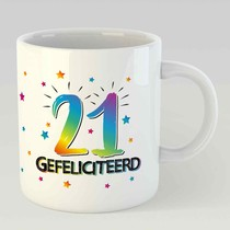 21 gefeliciteerd L