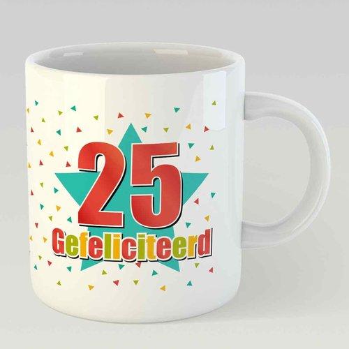 25 gefeliciteerd L
