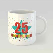 25 gefeliciteerd M