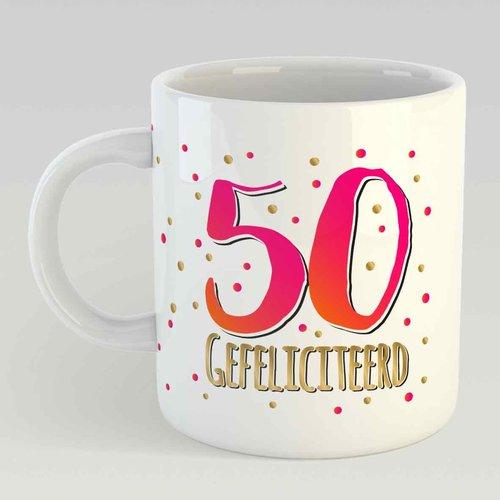 50 gefeliciteerd L