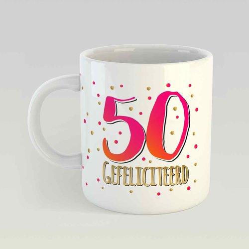 50 gefeliciteerd M