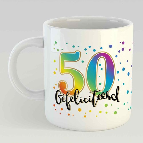50 gefeliciteerd L - ST