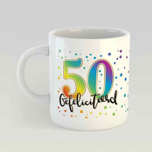 50 gefeliciteerd M - ST