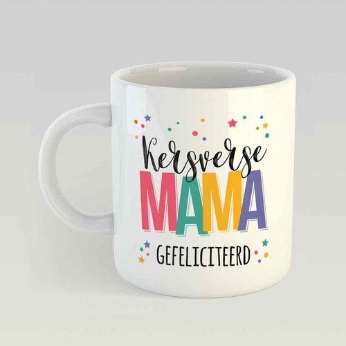 Kersverse mama Gefeliciteerd M