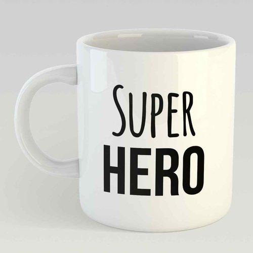 Super hero L zwart