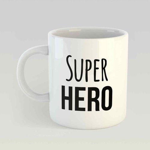 Super hero M zwart