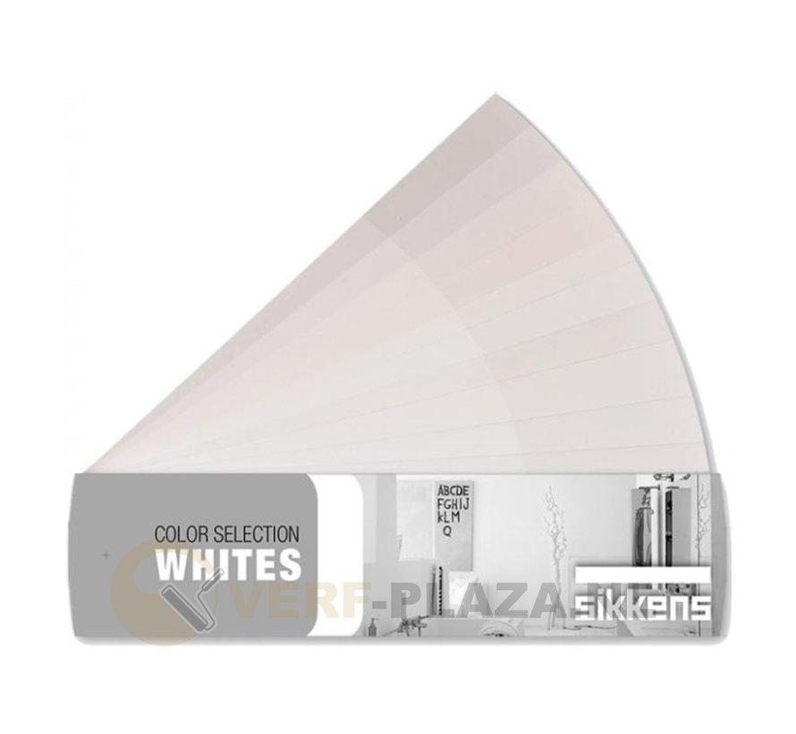Sikkens Kleurenwaaier Witten kleuren