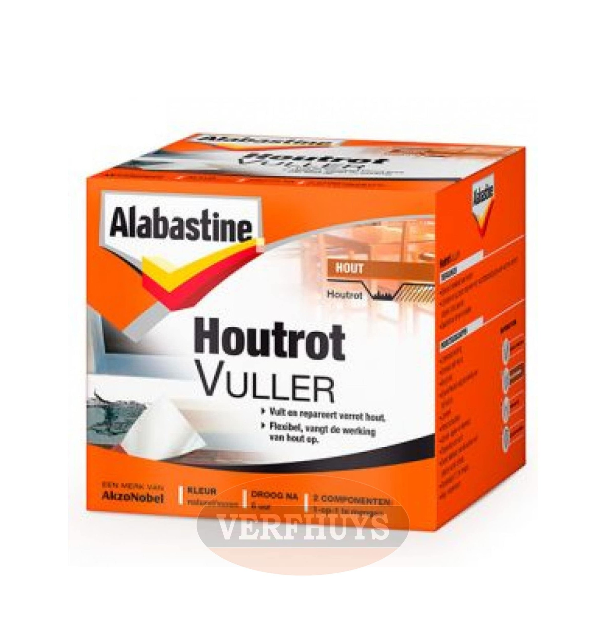 Alabastine Houtrot Vuller Nodig Bestel Bij Verfhuys Verfhuys