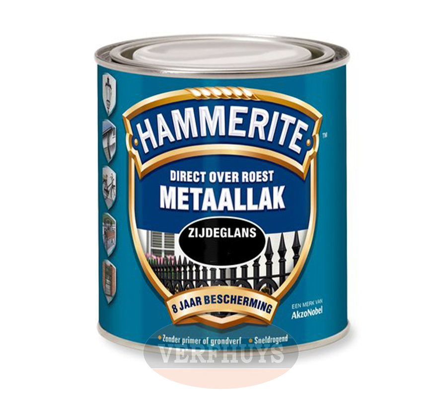 Hammerite Metaallak Zijdeglans