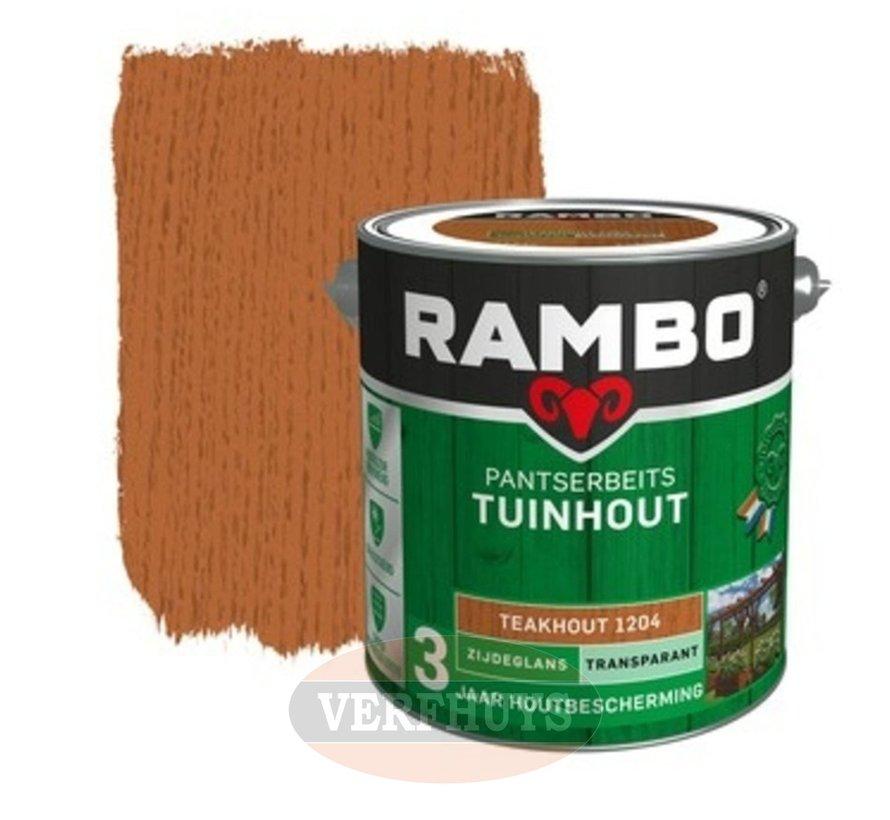 Rambo Pantserbeits Tuinhout Teakhout 1204