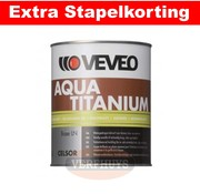 Veveo Veveo Celsor Aqua Titanium - Zijdeglans