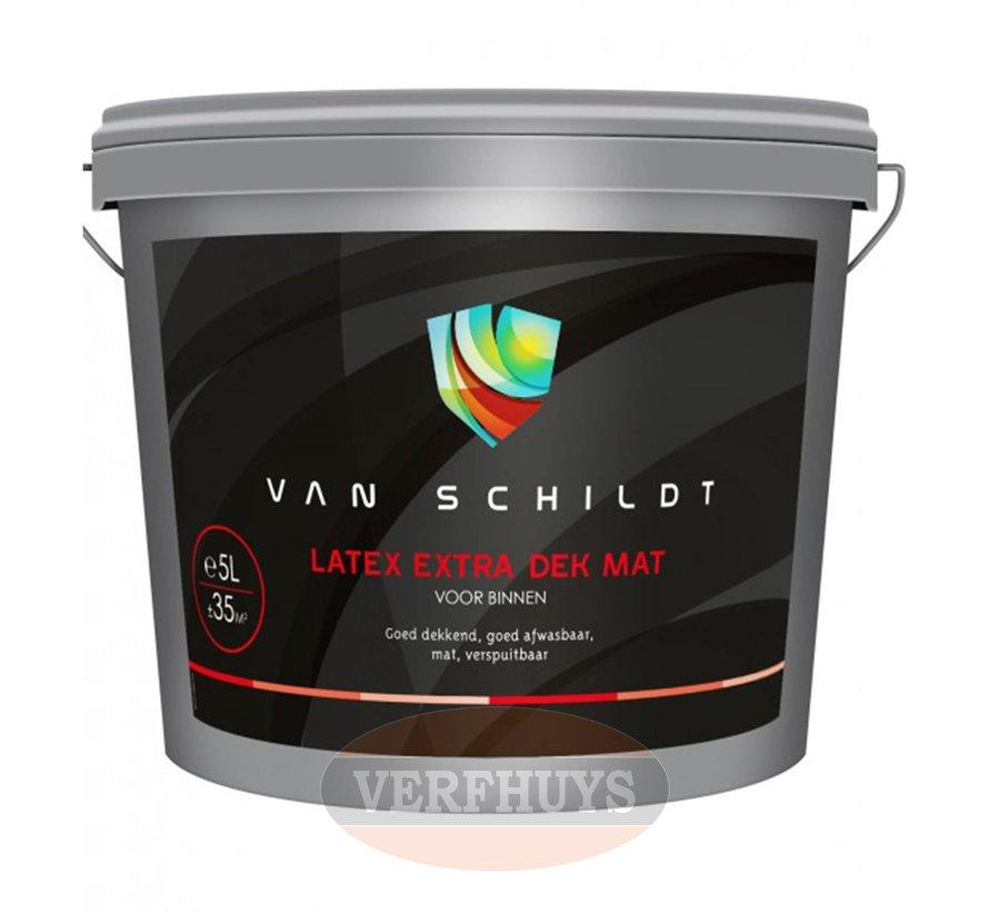 Van Schildt Latex Extra Dek Mat