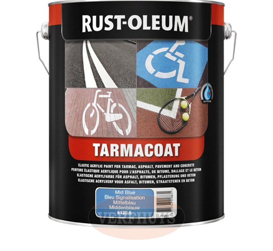 Rust-Oleum Tarmacoat Wegenverf - 5 liter