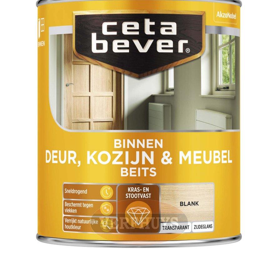 CetaBever Transparante Binnenbeits Deur & Kozijn - Zijdeglans
