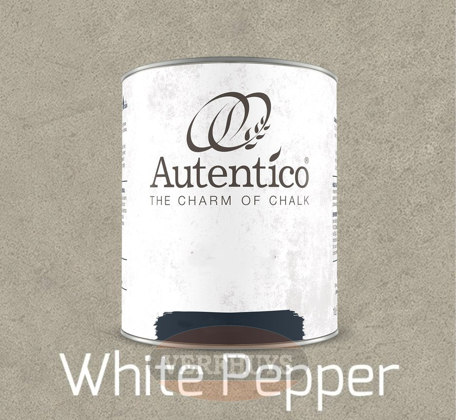 Autentico Volterra - White Pepper - 2,5 Liter