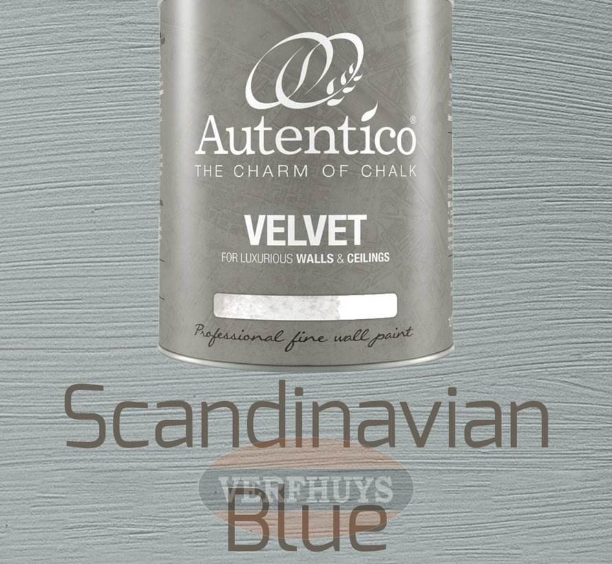 Autentico Velvet - Scandinavian Blue