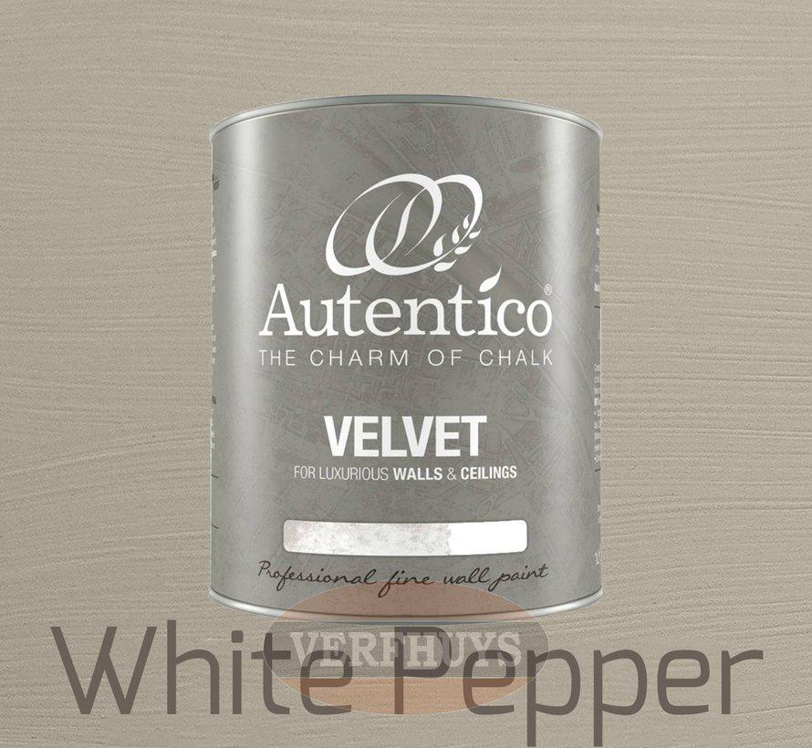 Autentico Velvet - White Pepper