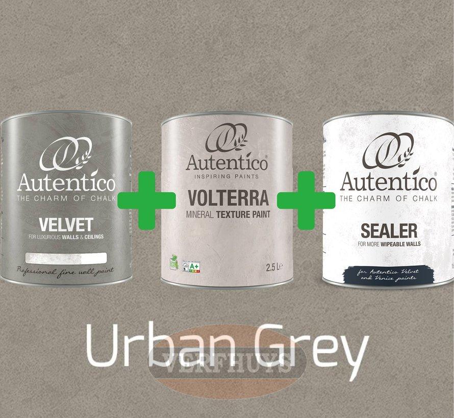 Complete betonlook verfset voor 10m2 - Urban Grey