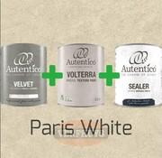 Complete betonlook verfset voor 10m2 - Paris White