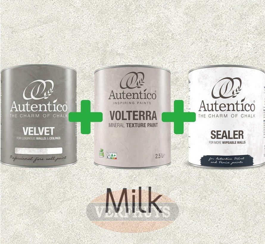 Complete betonlook verfset voor 10m2 - Milk