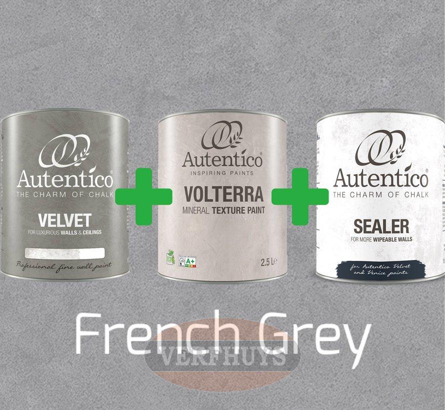 Complete betonlook verfset voor 10m2 - French Grey
